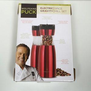 Wolfgang Puck Kitchen - Wolfgang Puck Electric Gravity Spice Set of 2